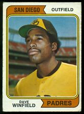 1974 TOPPS OPC O PEE CHEE BASEBALL #456 DAVE WINFIELD Rookie VG-EX Padres RC