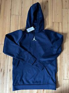 Nike Jordan 23 Alpha Therma Hoodie Men's L Blue AV3162 419 NWT