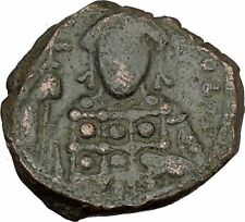 Constantine X  Ducas 1059AD Large Ancient Byzantine Coin JESUS CHRIST i41771