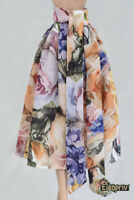 ELENPRIV floral printed crepe skirt for Fashion Royalty FR2 and similar dolls