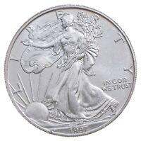 Better Date 1997 American Silver Eagle 1 Troy Oz .999 Fine Silver BU Unc