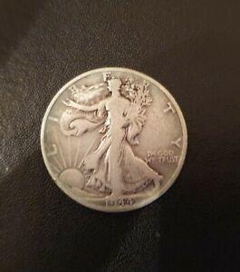 Silber Münze, United States of America, Half Dollar, 1944