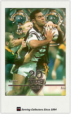 1996 NZ Rugby League Card Superstar Of League 20 Game Club #12: Kevin Iro