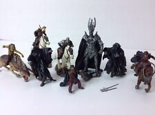 Lot of Lord Of The Rings Play Along Inc. Mini Figures Toys Tolkien  LOTR 2003