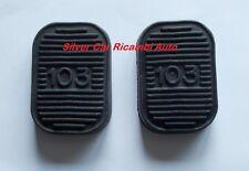 Copri pedali freno e frizione con logo 103 per Fiat 1100/103 Berlina