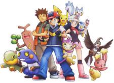 Pokemon Iron On T-Shirt Transfer A5