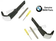 NEW BMW E92 3-Series Coupe Pair Set of 2 Front Seat Belt Extender Arms Genuine