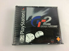 Playstation 1 (Ps1) Gran Turismo 2 Complete Set w/ Both Manuals - Used Free Ship