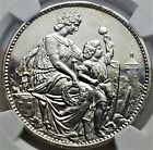 5 Francs 1865 Schaffhausen Shooting Festival Switzerland MS62 NGC Only 10.000 RR