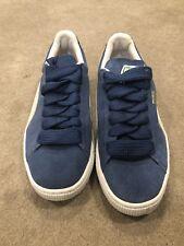 Puma Suede Classic Blue Womens Size 7.5