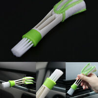 Auto KFZ Klimaanlage Lüftungsgitter Pinsel Fensterladen Bürste Luftdüse Reiniger