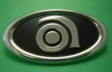 Small Metal Ampeg Logo - Bass Amp Emblem - NOS