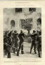 1897 Turkish Bastian In Canea Italian Russian Marines Attack Muslim Mutineers