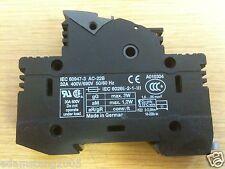 Phoenix Uk 10.3-Hesi Fuse Holder Uk-10.3x38 32 Amp 600 Volt Din Rail Mount