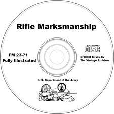 Rifle Marksmanship Training Manual on CD