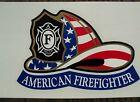 NEW 3 I.A.F.F. FIRE HELMET FIREFIGHTER STICKER DECAL NEW