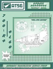 700R4 700-R4 4L60 ATSG Update Transmission Service Overhaul Rebuild Manual book