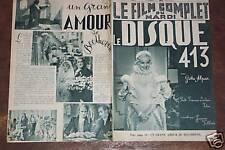 """FILM COMPLET 1936 N 1859 """" LE DISQUE 413"""" - GITTA ALPAR"""
