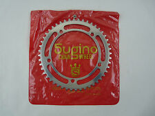 "Sugino Chainring NJS 144 Bcd 1/8"" 48T Vintage Track Bike FREE SHIP US New NOS"