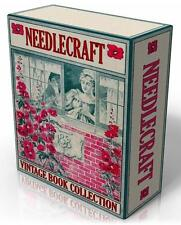 NEEDLEWORK TEXTILES DRESSMAKING 160 Vintage books - DVD Costume, Vintage Clothes