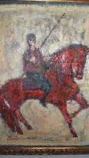 NISSAN ENGEL rare original Israeli Oil Painting signed
