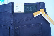 MAC Angela super slim Damen Hose Jeans stretch bequem Gr. 36/32 lila NEU