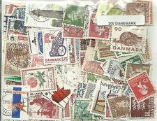 Lot timbres du Danemark