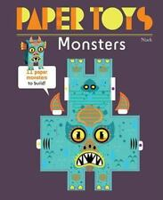 Monsters: 11 Paper Monsters to Build! (Paper Toys), Niark, Good Condition, Book