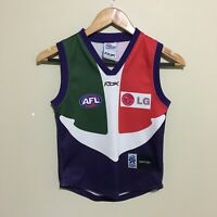 Fremantle Dockers Reebok 2007 AFL Guernsey Jumper Youth Boys Small