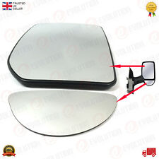 FORD TRANSIT MK6 00/06 RH SIDE WING MIRROR GLASS + BLIND SPOT MIRROR GLASS