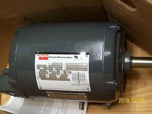 NEW DAYTON 5N302 PREMIUM EFFICIENCY MOTOR 1.5 1-1/2 HP 3-PHASE 208-230/460V