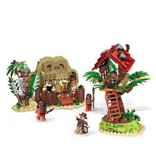 1021PCS Forest Adventure Series  Field Survival Camp Building Blocks Bricks Toys