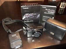 Canon PowerShot G7 X Digital Camera - Black