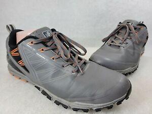 New Balance NBG1006 Minimus Spikeless Golf Shoes Grey/Orange Size 10 M