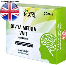 Swami ramdev Divya MEDHA Reder anti stress depressione mentale EXTRA POWER 120 schede