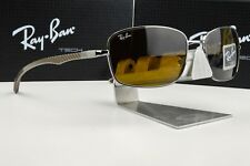NEW Ray Ban Tech RB 8308 004 IN FIBRA DI CARBONIO/Gunmetal Brown Lens occhiali da sole