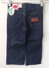 vintage toddler wrangler jeans size 2T deadstock NWT 80s