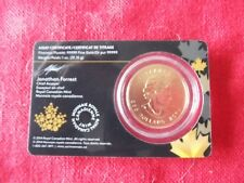 CANADA $200 Dollars (MAPLE LEAF) gold (.99999) 31.15G IN CERTIFICATE RARE WOLF