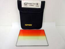 "Tiffen 4x5.65"" Sunset Grad 2 Soft Edge Filter Horizontal Graduated 4565CGSU2H"