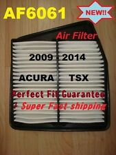 AF6061 Engine Air Filter For ACURA TSX 09 10 11 12 13 14 Fast Shipping 4CYL Only