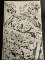 Power Rangers Teenage Mutant Ninja Turtles #4 50 Copy TMNT (2020 Boom!) Sketch