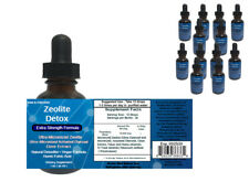 Extra Strength Liquified Zeolite Natural Liquid Detox QTY 12