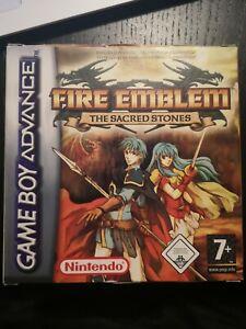 Jeu nintendo game boy advance GBA FIRE EMBLEM the sacred stones en boite