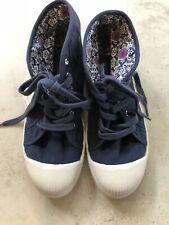 Tucker and Tate Hightop Canvas Sneakers Big Girls Size 5