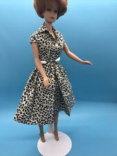 Vintage Barbie Fashion Pak Black & White Floral Blouse And Skirt