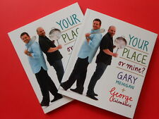## YOUR PLACE OR MINE? by GARY MEHIGAN + GEORGE CALOMBARIS **AS NEW