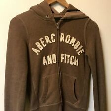 vintage Abercrombie and Fitch zip up hoodie