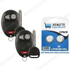 Replacement for Chevy Colorado Venture GMC Canyon Remote Car Key Fob Set Pair