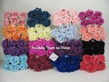 5cm Artificial Flowers Foam Roses Wedding Bouquet  Button Holes .bridesmaids..