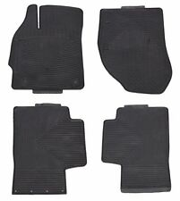 All Weather Black Rubber Floor Mats for Toyota Prius 2010-2015